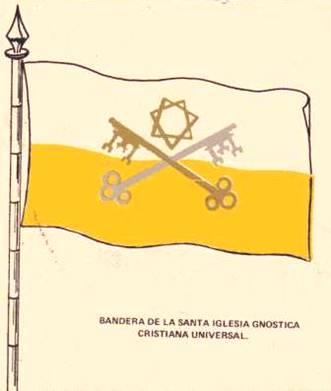bandera de la iglesia